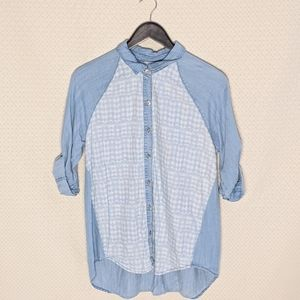 Liverpool jeans company denim button up
